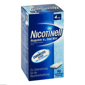 Nicotinell Kaugummi Cool Mint 4mg